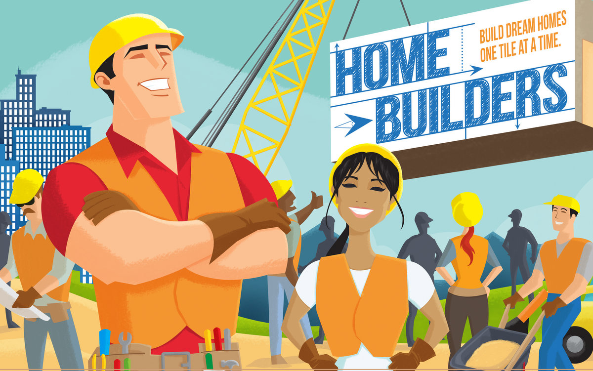 Home builders funhill games for House builder