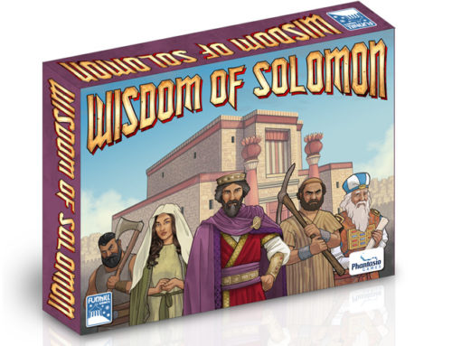 Wisdom of Solomon now on Kickstarter!